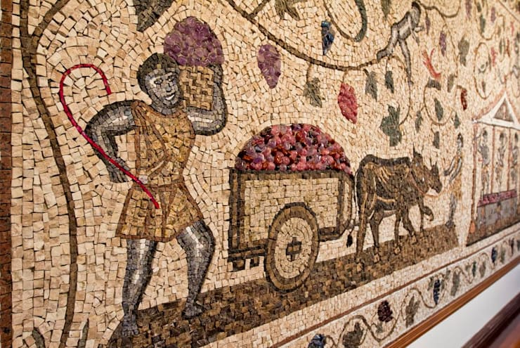 Paineis em mosaico: Adegas  por Mosaico Leonardo Posenato
