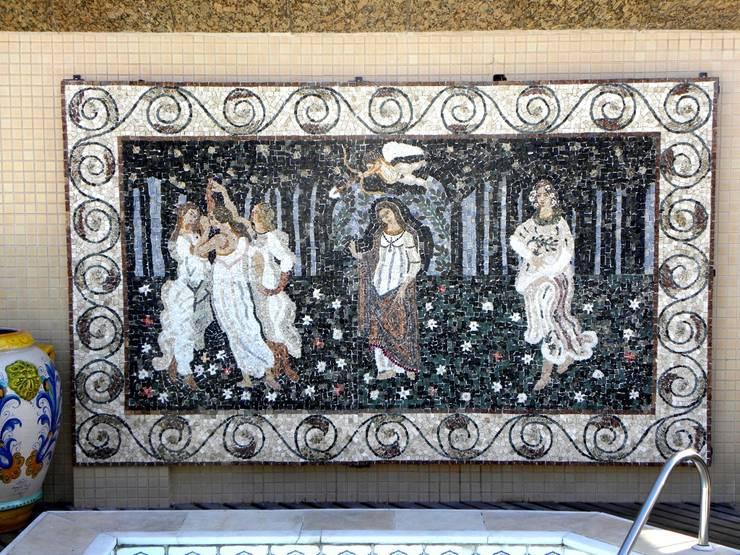 Paineis em mosaico: Terraços  por Mosaico Leonardo Posenato
