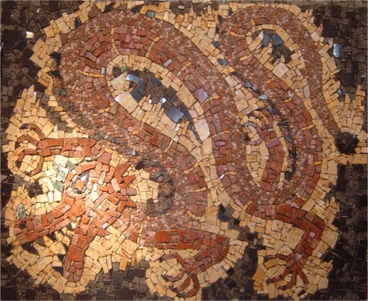 Paineis em mosaico Jardins clássicos por Mosaico Leonardo Posenato Clássico