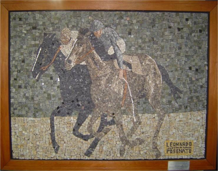 Paineis em mosaico Paredes e pisos clássicos por Mosaico Leonardo Posenato Clássico