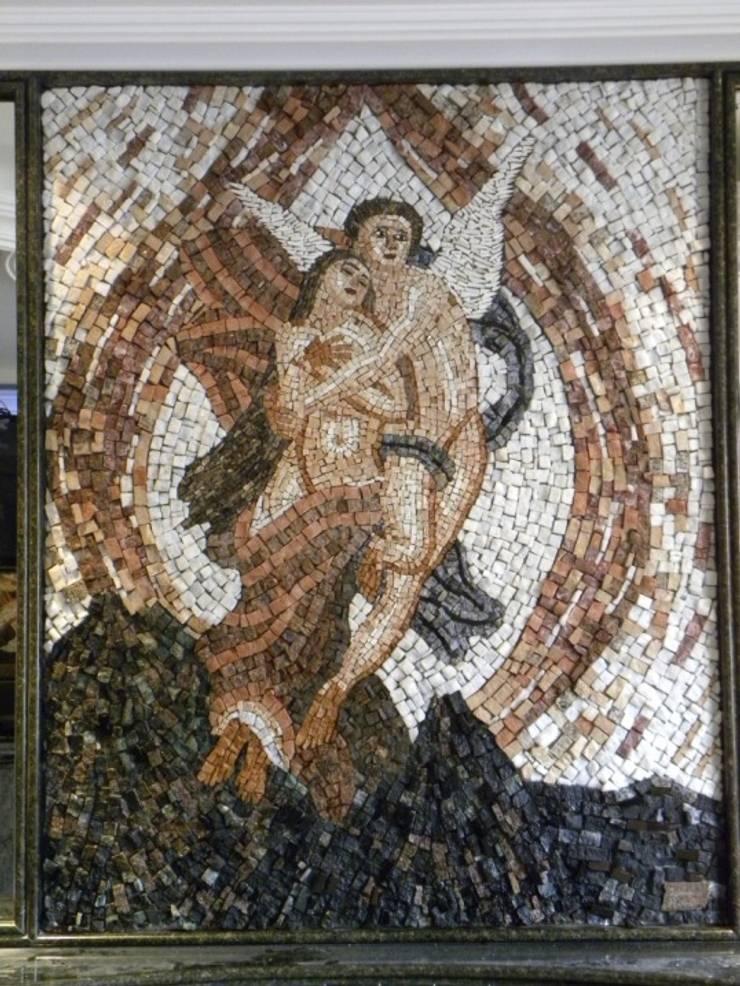Paineis em mosaico: Quartos  por Mosaico Leonardo Posenato