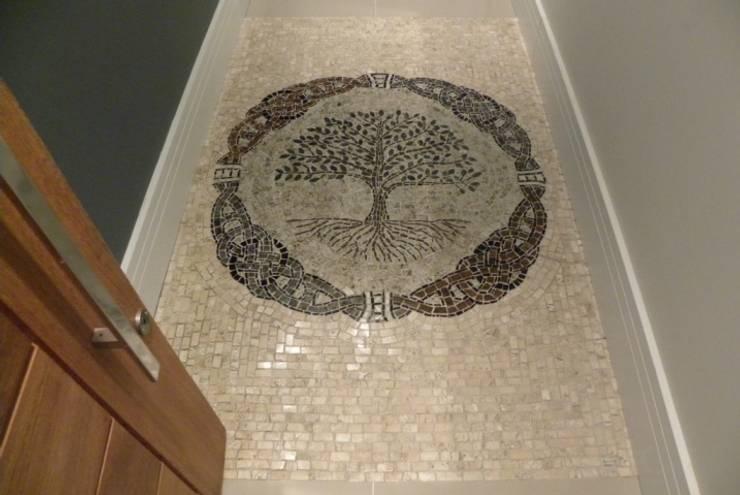 جدران وأرضيات تنفيذ Mosaico Leonardo Posenato