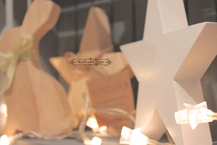 Dębowa Gwiazda: styl , w kategorii Pokój dziecięcy zaprojektowany przez MyWoodVillage
