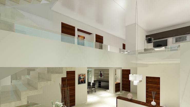 Residencial Europa: Salas de estilo  por CouturierStudio