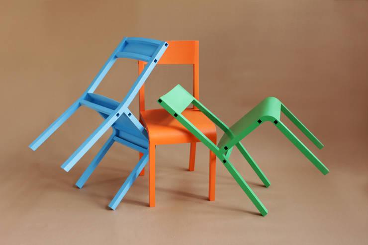 Leichtstuhl:  Esszimmer von Christian Zander Industrial Design