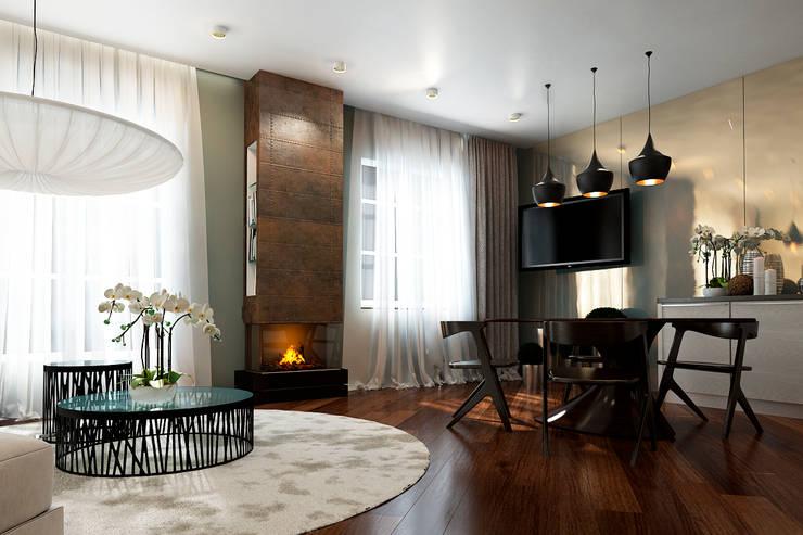 Projekty,  Salon zaprojektowane przez Sweet Hoome Interiors