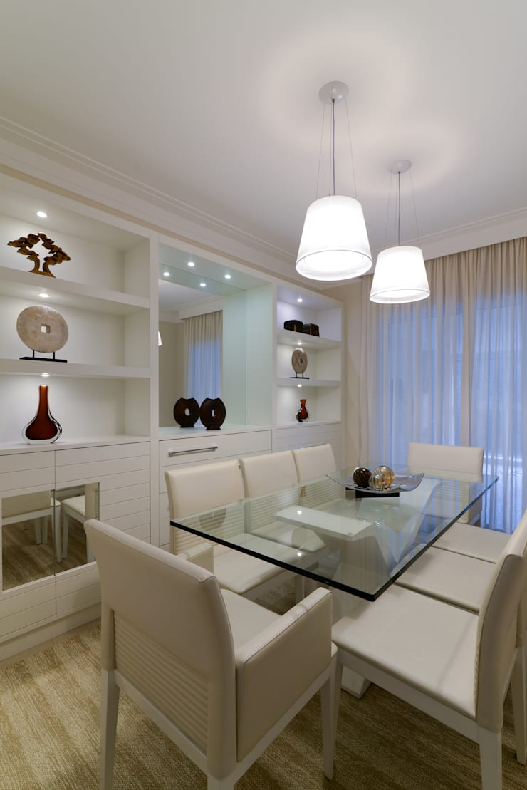 Projeto: Salas de jantar  por Solange Guerra