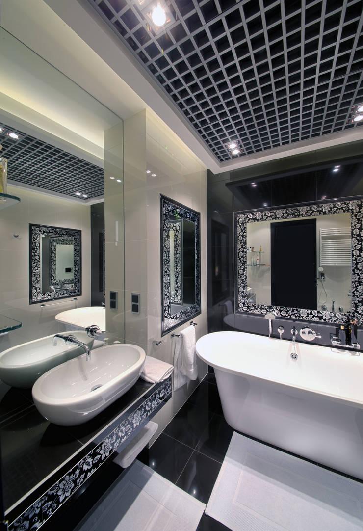 Ванная комната в  квартире на Смоленской: Ванные комнаты в . Автор – Дизайн-студия «ARTof3L»