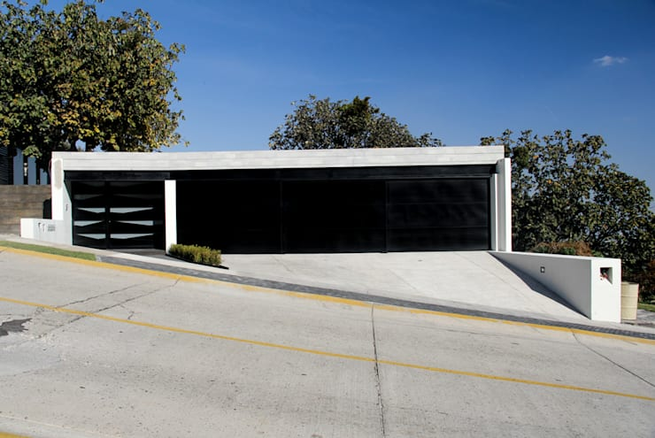 modern Garage/shed by aaestudio