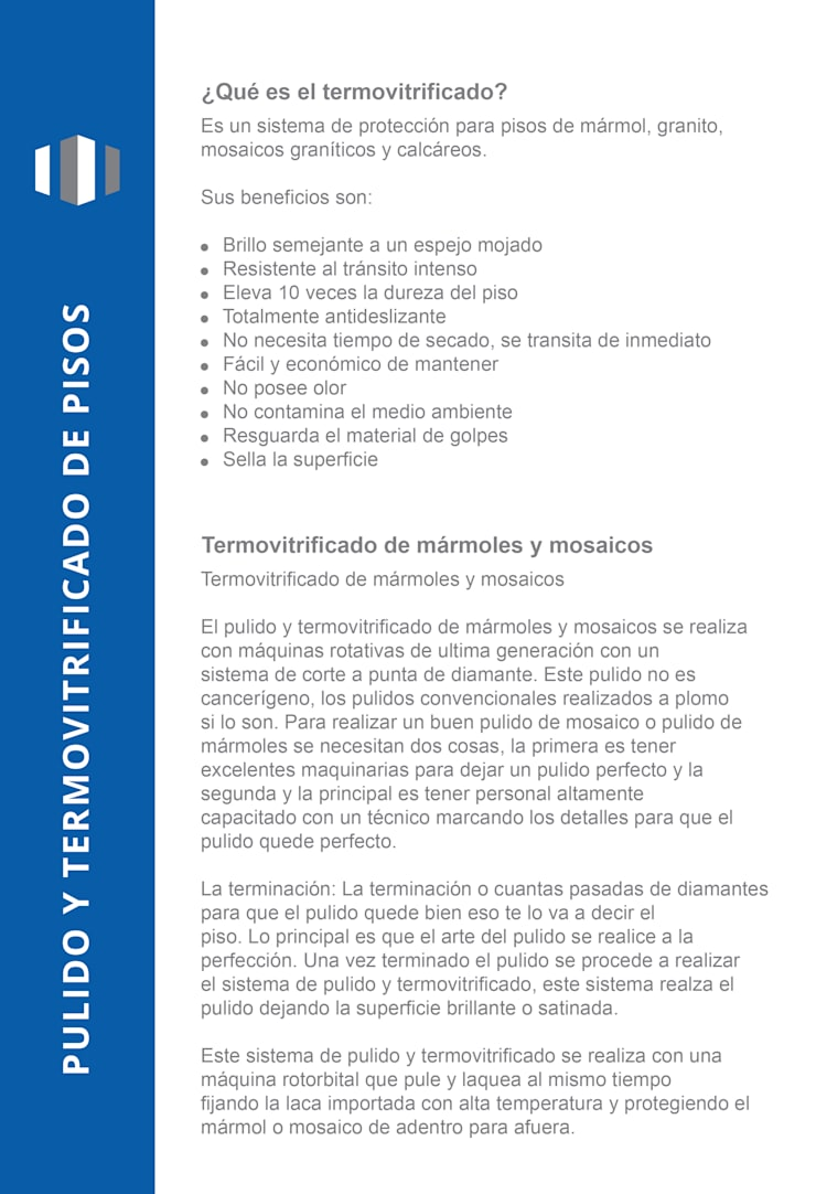 Pulido y Termo Vitrificado de Pisos:  de estilo  por Indinaco srl Construcciones y servicios