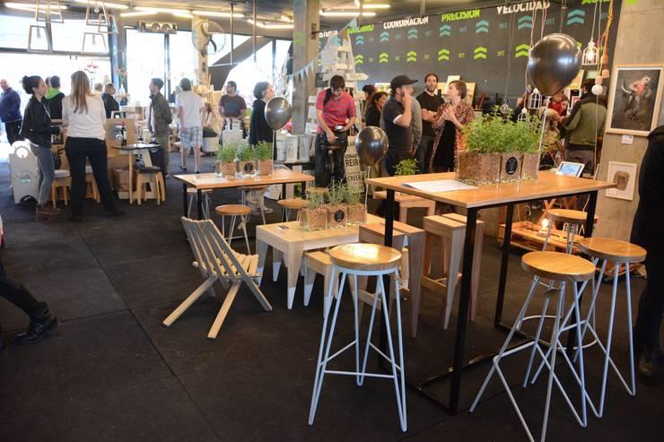 Feria Good en Nordelta: Cocinas de estilo industrial por Tabureto