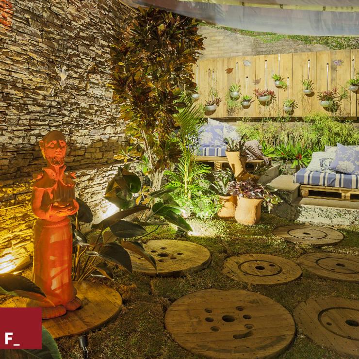 Projekty,  Ogród zaprojektowane przez Fadel Arquitetura