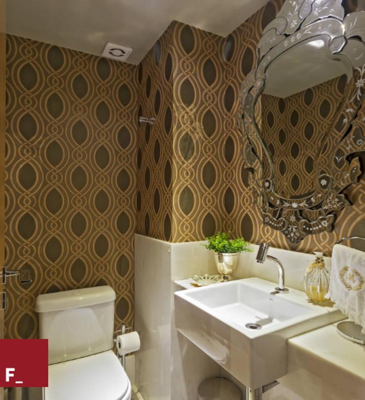Lavabo: Banheiro  por Fadel Arquitetura