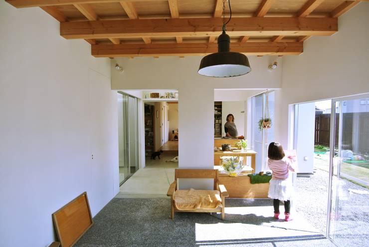 シキナミカズヤ建築研究所의  거실