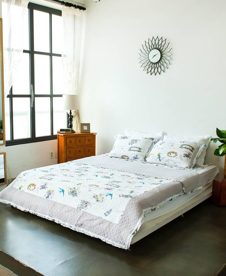 [쉬즈가] 포시즌 이불겸 스프레드 (S/Q) : 쉬즈가의  침실