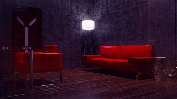 Audiophile Loft: Медиа комнаты в . Автор – SVPREMVS