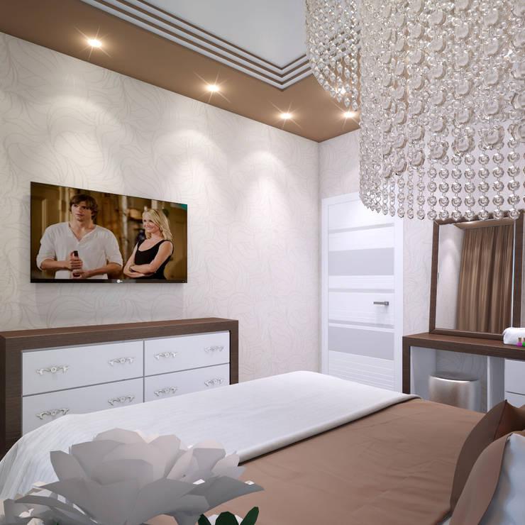 Дизайн спальни в Туле: Спальни в . Автор – Алина  Насонова,