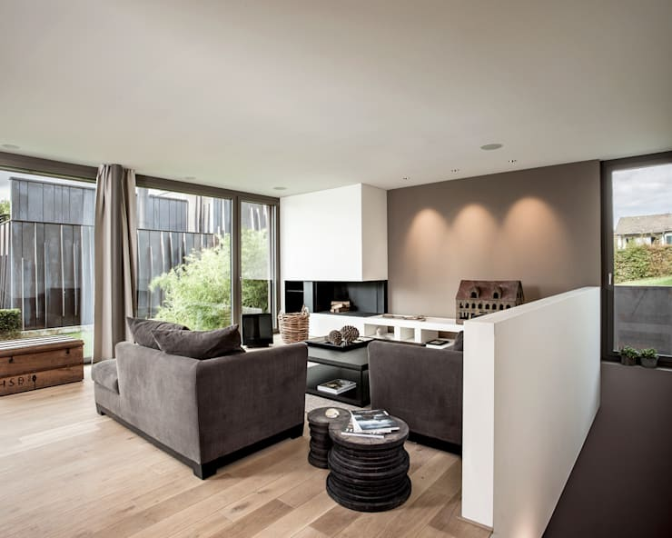 modern Living room by meier architekten