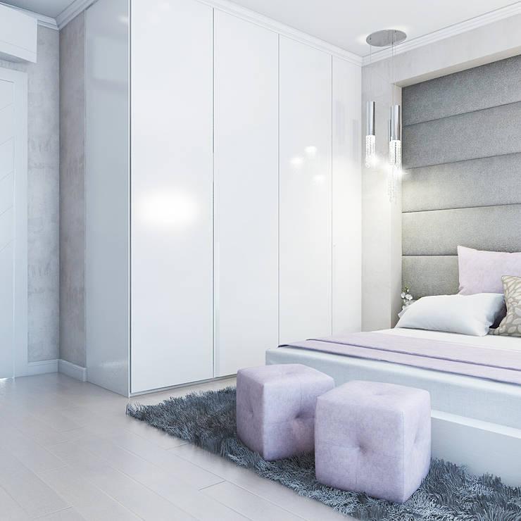 Bedroom by Частный дизайнер и декоратор Девятайкина Софья, Classic