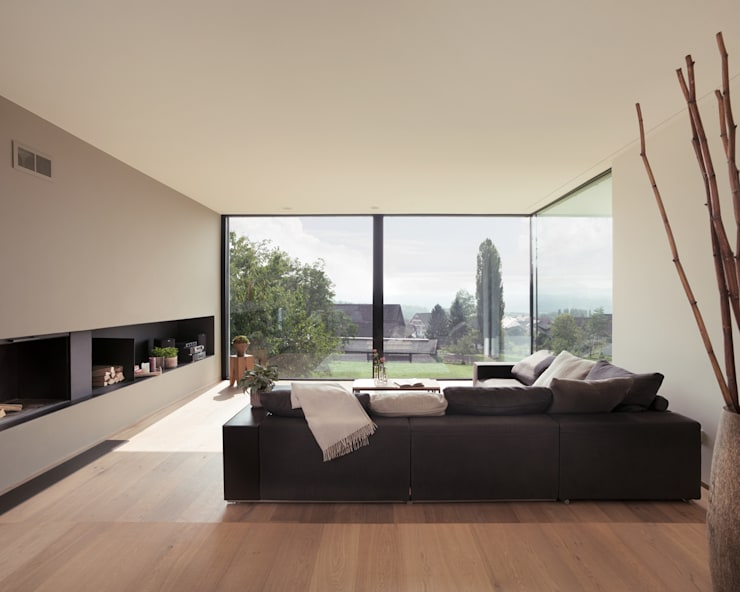 Living room by meier architekten