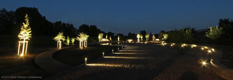 Tuin door OC|Lichtplanung