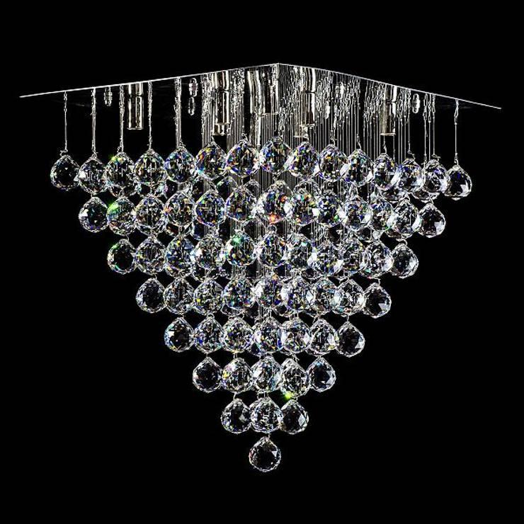 M / 500 - 1 / C: styl , w kategorii Salon zaprojektowany przez Crystal Light