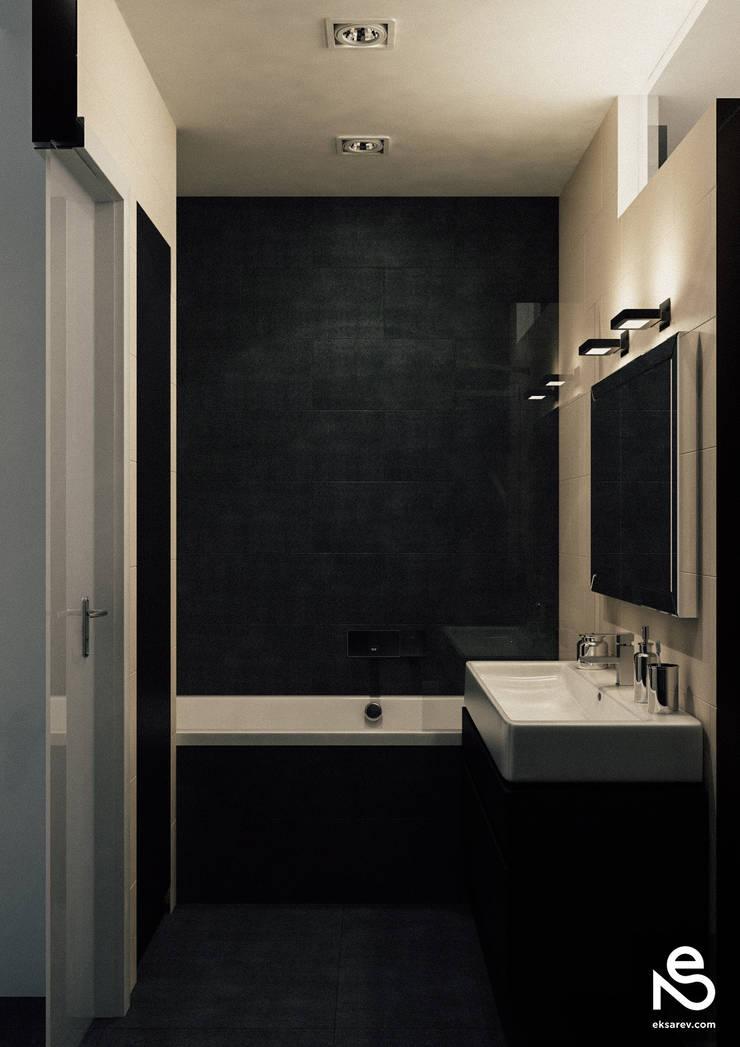 Старопортофранковская street: Ванные комнаты в . Автор – Studio Eksarev & Nagornaya