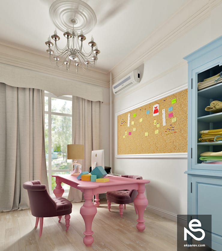 Showroom <q>KidsCouture</q>: Гостиная в . Автор – Studio Eksarev & Nagornaya,