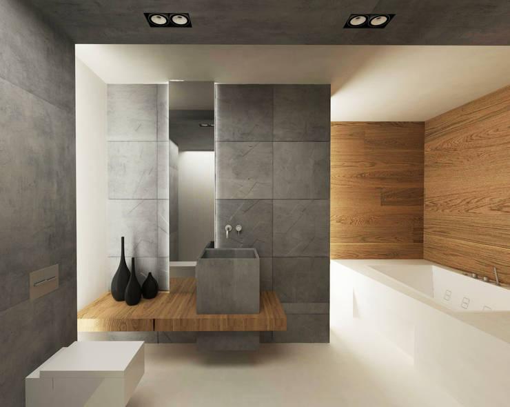 Ванная: Ванные комнаты в . Автор – ARCHWOOD, дизайн-бюро