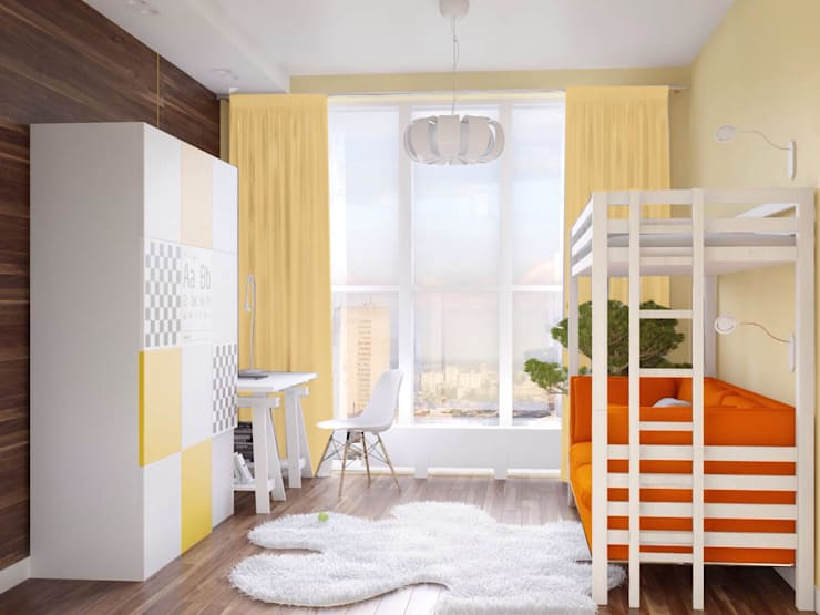 Детская: Детские комнаты в . Автор – ARCHWOOD, дизайн-бюро