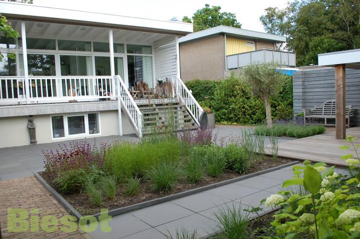 Ontwerp en aanleg tuin in Bergen:  Tuin door Biesot, Modern