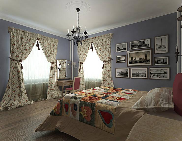 студия Виталии Романовской의  침실
