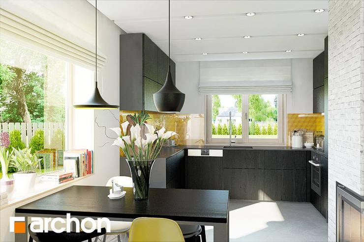 Kolekcja Lamp TUBA: styl , w kategorii Salon zaprojektowany przez ArchonHome.pl