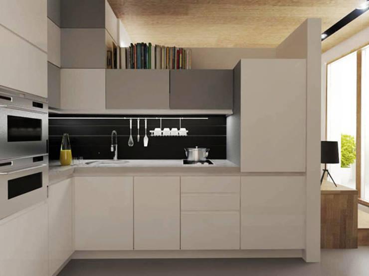 Кухня: Кухни в . Автор – ARCHWOOD, дизайн-бюро