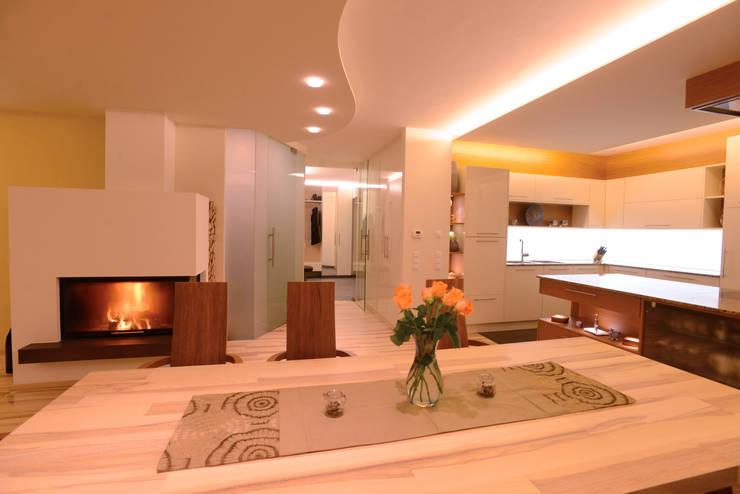 modern Living room by Horst Steiner Innenarchitektur