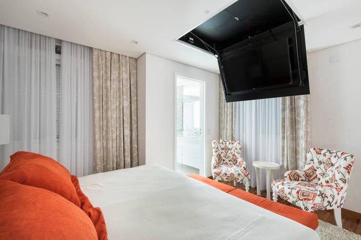 Bedroom by Cactus Arquitetura e Urbanismo