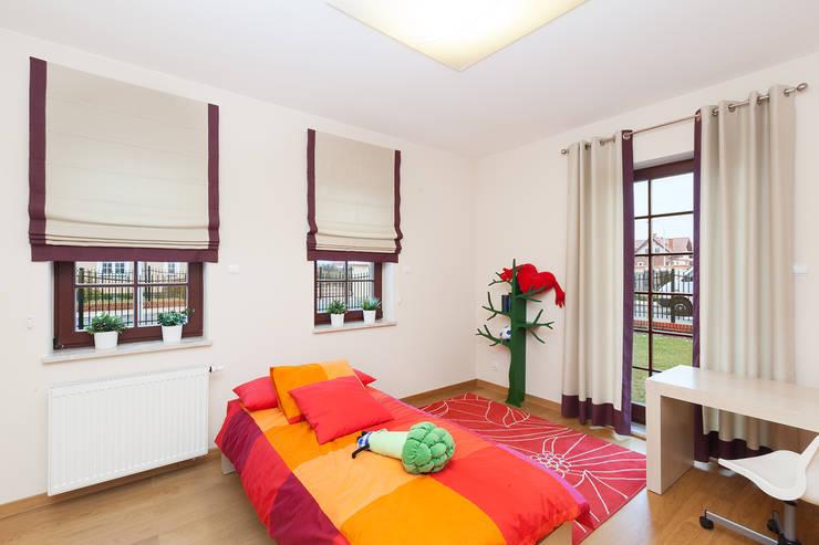 Dekoracje okienne: styl , w kategorii Sypialnia zaprojektowany przez Han-Art