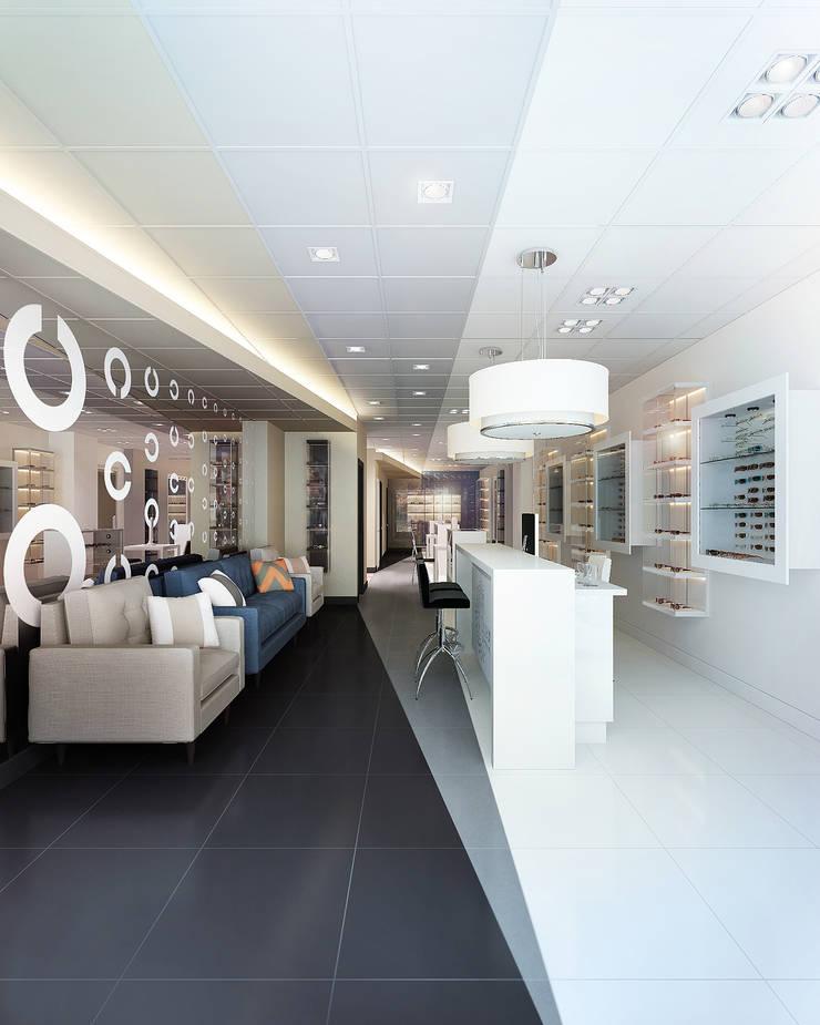 Ocean Eyes Optical: Офисы и магазины в . Автор – KAPRANDESIGN