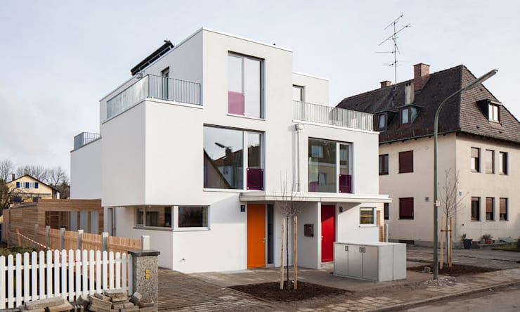 modern Houses by MuG Architekten