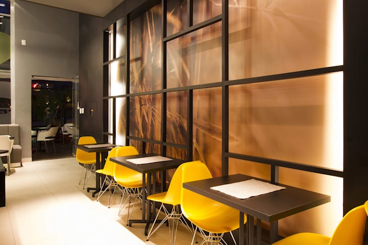 Restaurante Matto: Espaços gastronômicos  por Mariana Borges e Thaysa Godoy