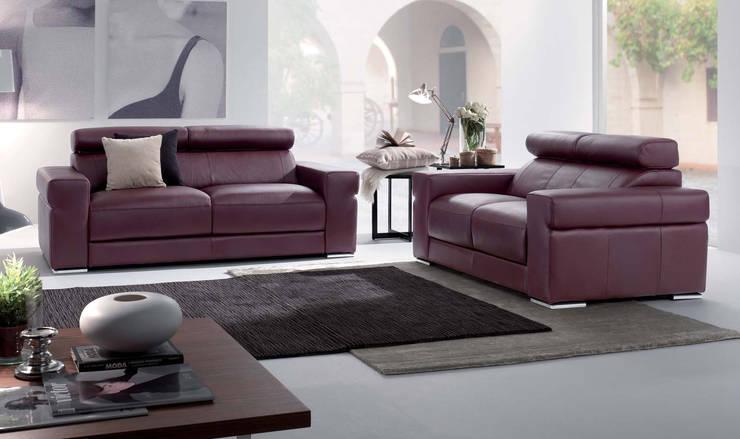 modern Living room by MUEBLES OYAGA