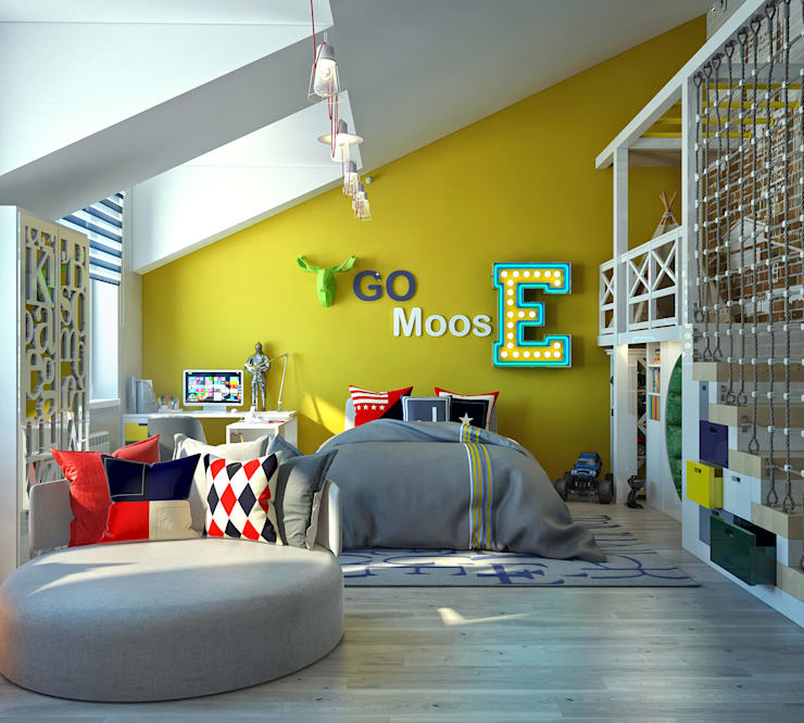 Quarto infantil  por Sweet Home Design