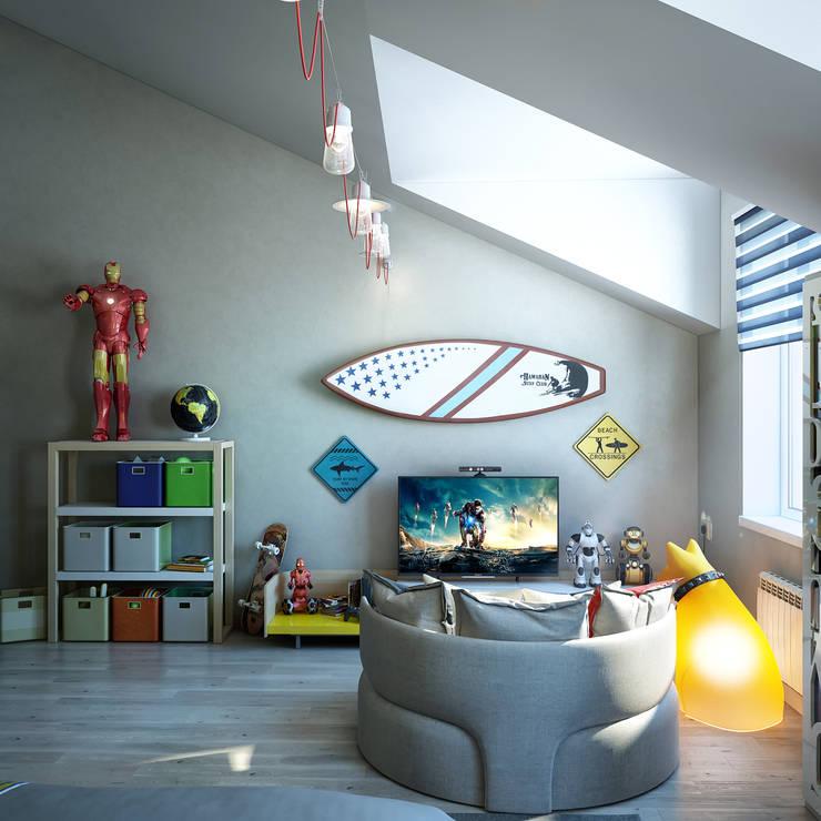 Recámaras infantiles de estilo moderno por Sweet Home Design