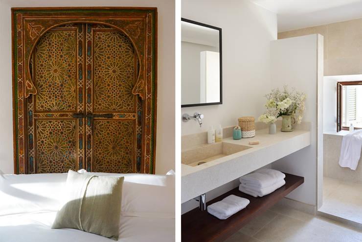Baños de estilo  por Bloomint design, Mediterráneo
