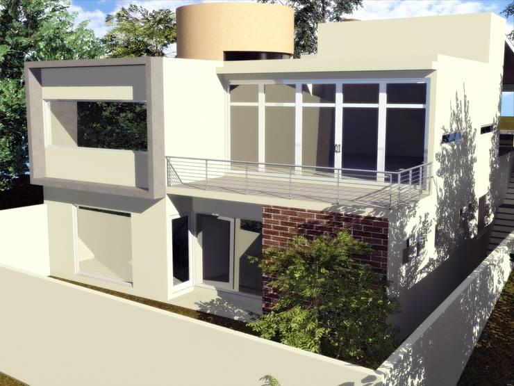 CASA PD - SANTA ISABEL: Casas de estilo  por Arquitectura . Diseño