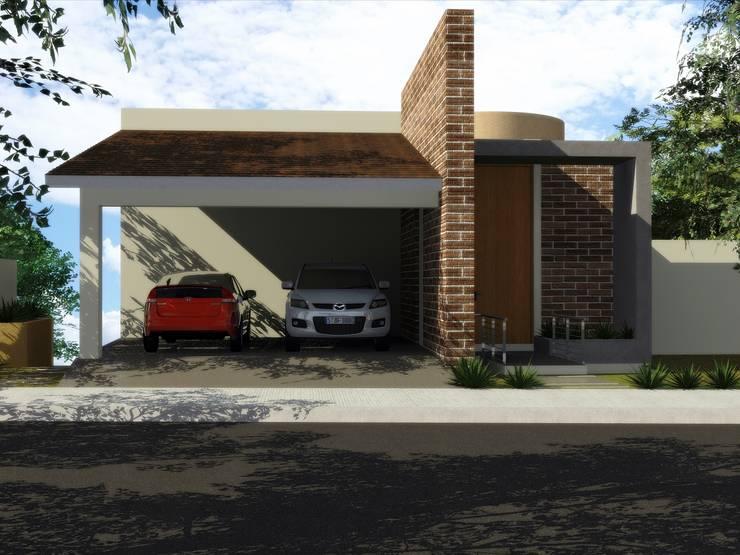 CASA PD – SANTA ISABEL: Casas de estilo  por Arquitectura . Diseño
