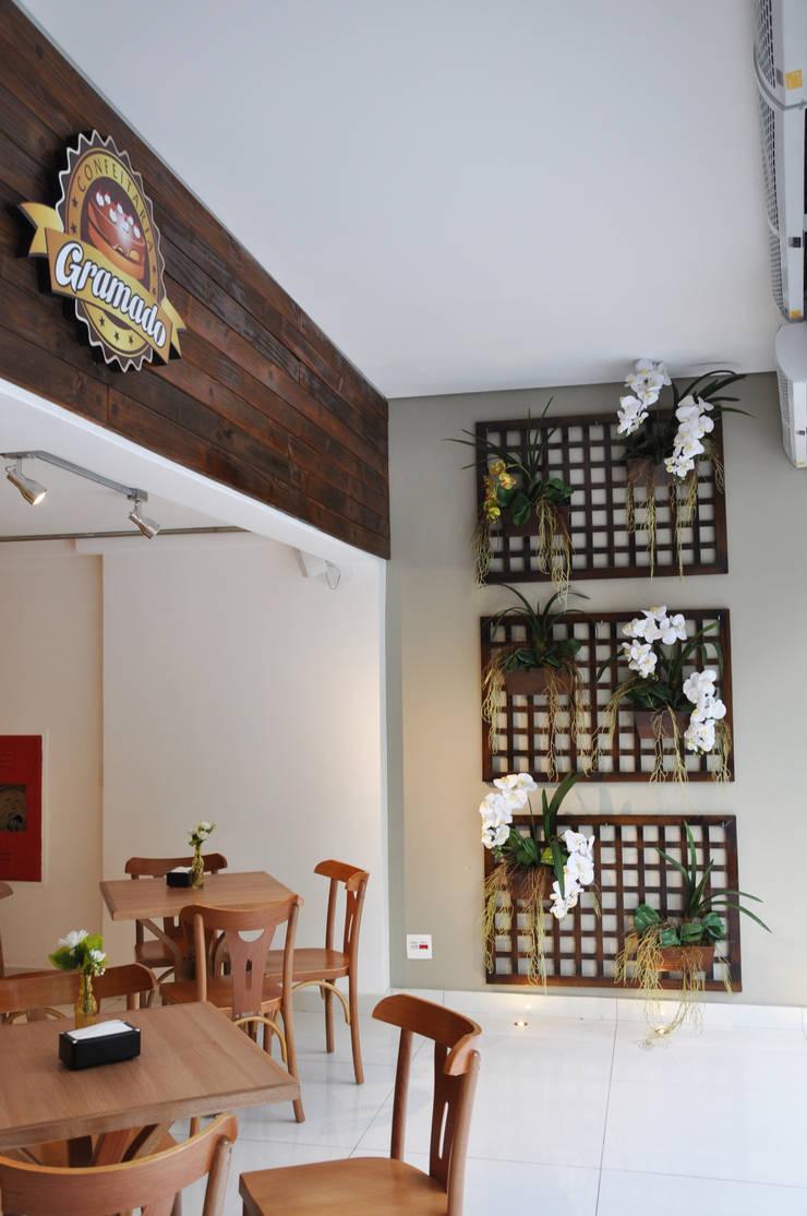 Entrada: Espaços gastronômicos  por Novità - Reformas e Soluções em Ambientes,