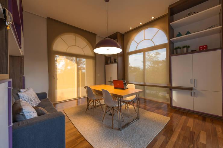 Study/office by Juliana Stefanelli Arquitetura e Design, Modern