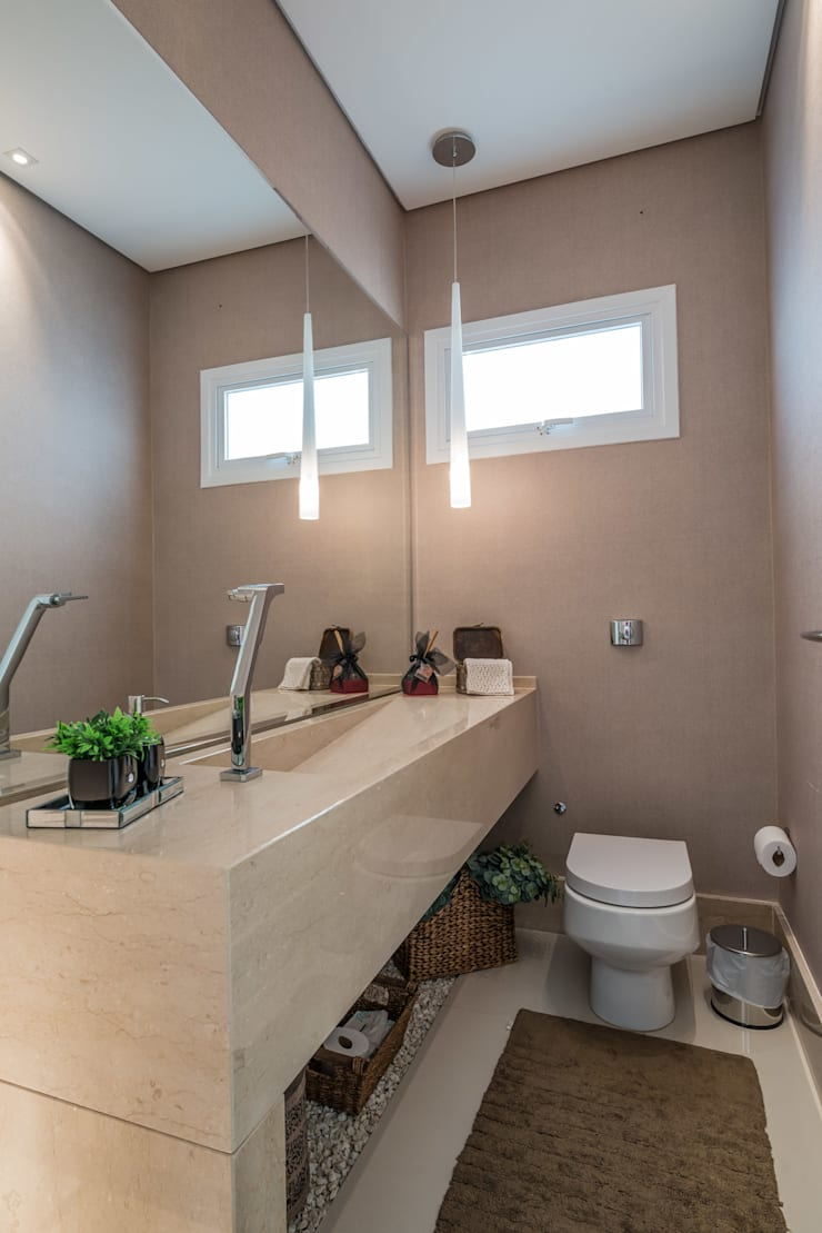 Bathroom by Juliana Stefanelli Arquitetura e Design, Modern