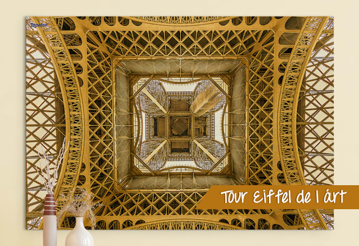 Quadratischer Eiffelturm   Exklusiv: Wände Von Tapetenprinz   Fototapeten  Und Mehr